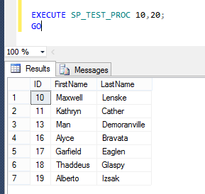 Different uses of Execute or Exec in SQL Server - Step1