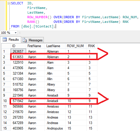 How to remove duplicate rows in sql server