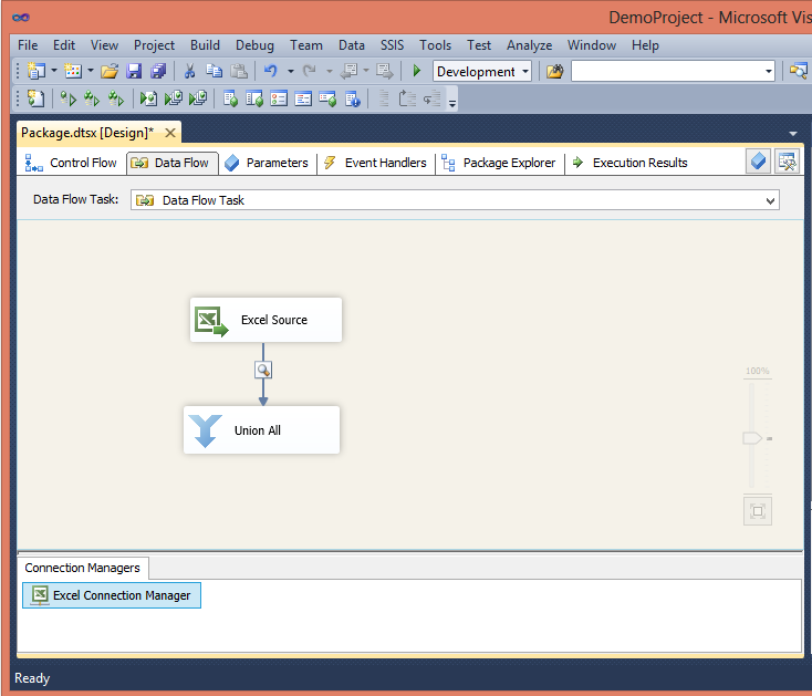 Skipping Excel Sub Total Rows in SSIS - Step2