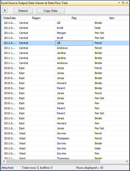 Skipping Excel Sub Total Rows in SSIS - Step4