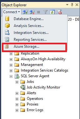 Restore SQL Server 2014 database from Windows Azure storage to Windows Azure VM Step2
