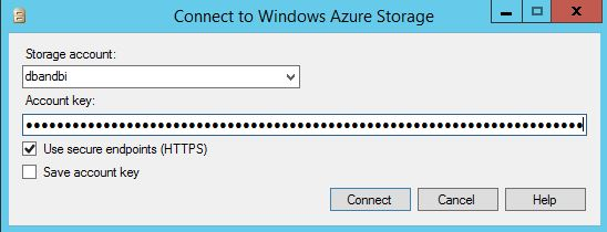 Restore SQL Server 2014 database from Windows Azure storage to Windows Azure VM Step3