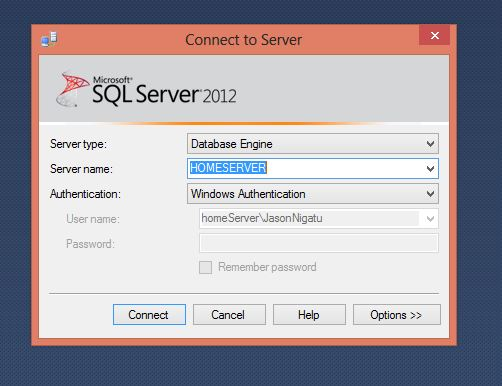 Run SQL Server Management Studio (SSMS) as different Windows user Step4