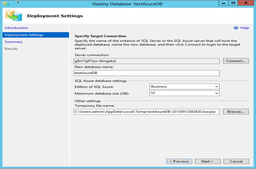 SQL Server 2014 new feature part 2 - Step2