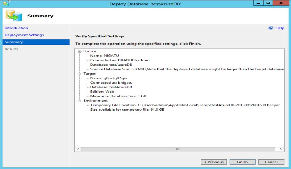 SQL Server 2014 new feature part 2 - Step3