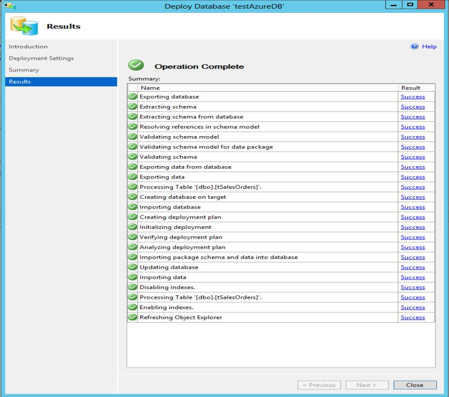 SQL Server 2014 new feature part 2 - Step4