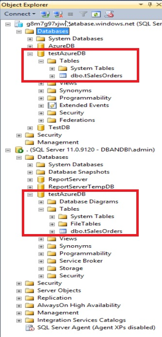 SQL Server 2014 new feature part 2 - Step5