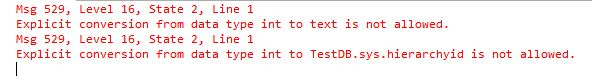 TRY_CAST TRY_CONVERT TRY_PARSE