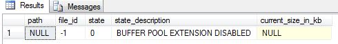 buffer pool extensions step1
