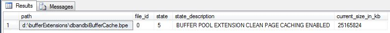buffer pool extensions step3