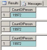 sql count command Step 1