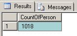 sql count command Step 2
