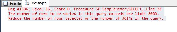 Natively Compiled Stored Procedure Step2