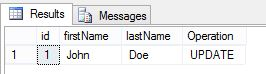 Output Caluse in SQL Server