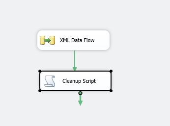 export xml file using ssis step11