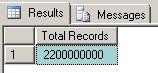 SUM and COUNT BIGINT values in SQL Server