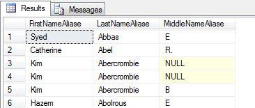 Alias column name in sql server 1