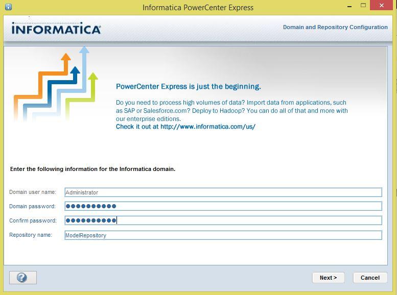 Informatica PowerCenter Express 10
