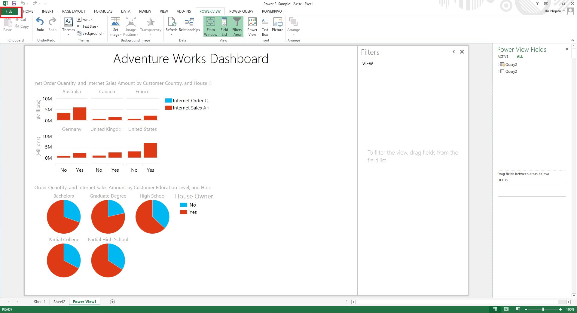 upload workbook to Power BI site