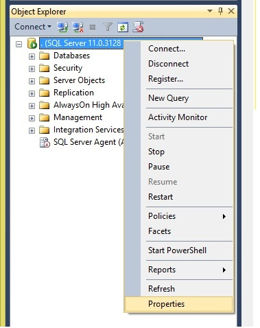 SQL Server Authentication Mode 1